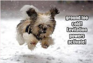 cold ground levitation